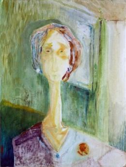 Woman by Tall Window, 2013
