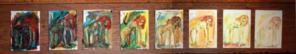 Blanche Ellis - Redhead series