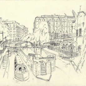 Camden View from Bridge 2.