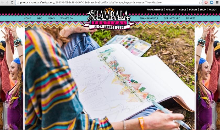 shambala website for festival summer 2013