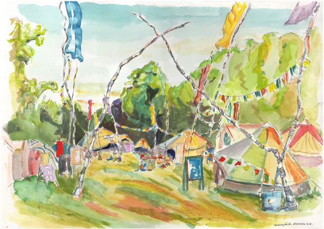 Shambala Healing Fields '13
