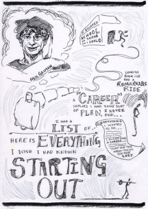 Neil Gaiman Speech - 'Make Good Art' - Sketchnotes 1