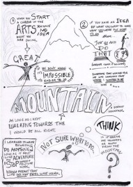 Neil Gaiman Speech - 'Make Good Art' - Sketchnotes 2