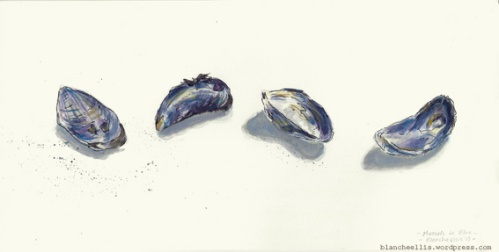 Mussels in Blue '13