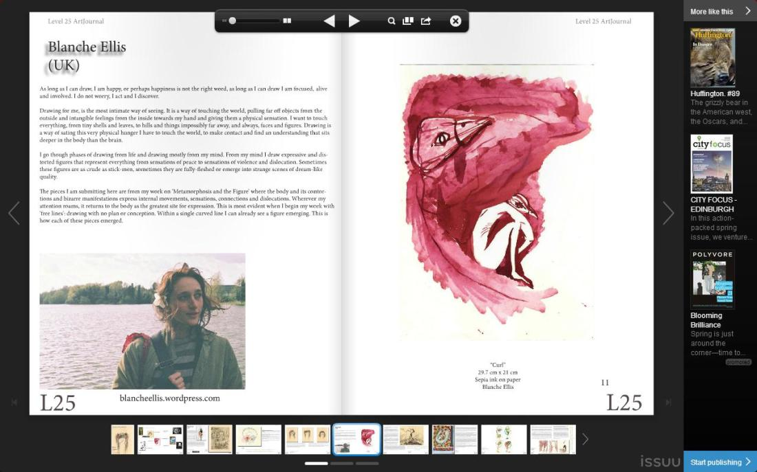 Level25 Art Journal - Blanche Ellis - 1