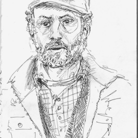 Portrait on the Northern Line blancheellis.wordpress.com
