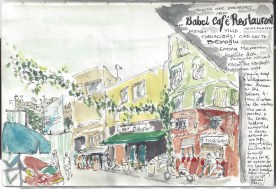 Istanbul - Babel Cafe - Last morning
