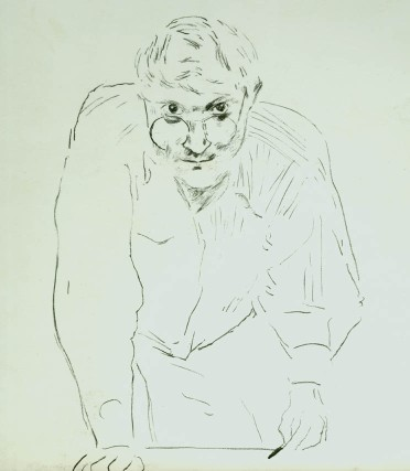 hockney self p