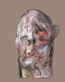 lita cabellut ceramic head