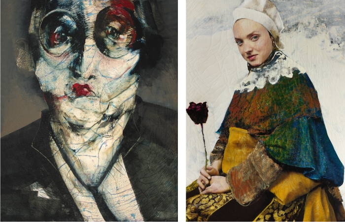 lita cabellut comparison